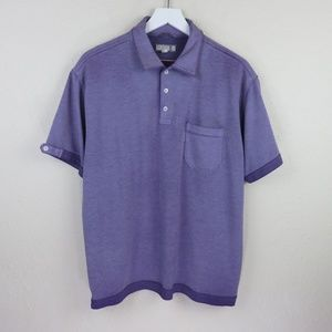 Ted Baker Purple Faded Style Polo